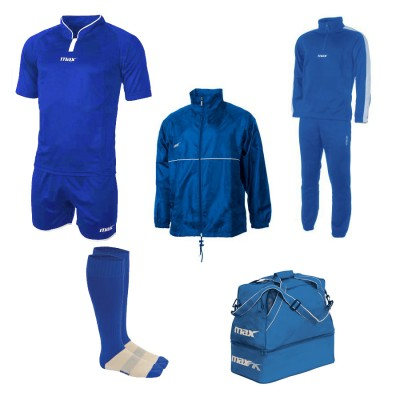 Set echipament fotbal Superbox Oceania, Royal, MAXSPORT