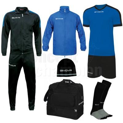 Set echipament fotbal Box Revolution, GIVOVA